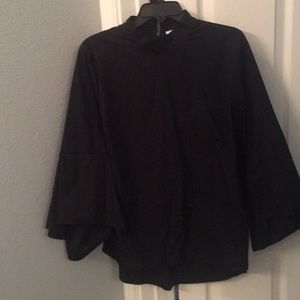 Pleione black blouse size L